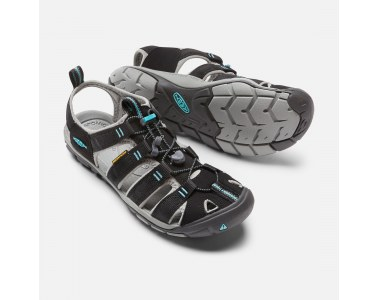 Sandalias Keen Clearwater CNX Mujer Black / Radiance