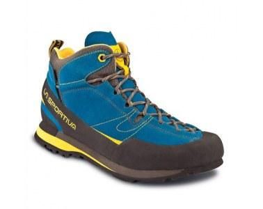 Botas de montanha La Sportiva Boulder X MID GTX Blue / Yellow