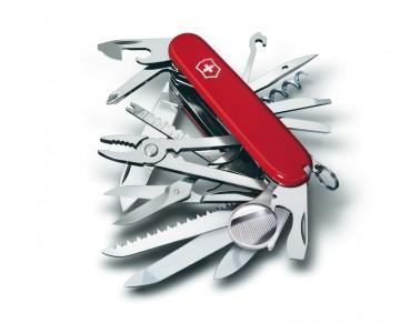 91 milímetros Victorinox bolso faca SwissChamp vermelho