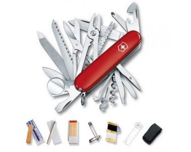 Victorinox jogo Sos kit de emergência vermelho